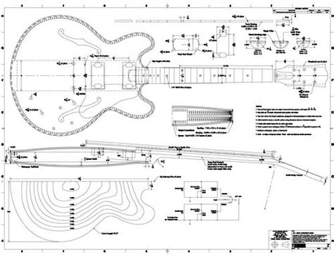 guitar design template free pdf guitar blueprints cmw guitars