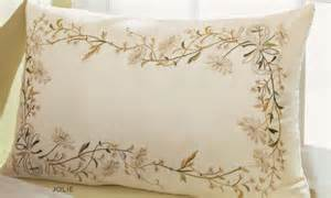 Carmen 4 Piece Comforter Set Ivory Embroidered Bed Pillows Embroidery Designs
