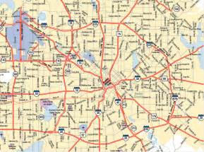 dallas on map dallas city map dallas usa mappery