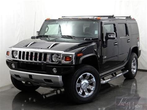 how can i learn about cars 2009 hummer h2 security system find used 2009 hummer suv luxury in villa park illinois united states for us 48 990 00
