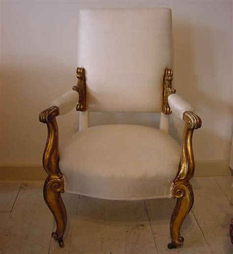 Decorative Armchair Early 19th Century Decorative Armchair Antique Chairs