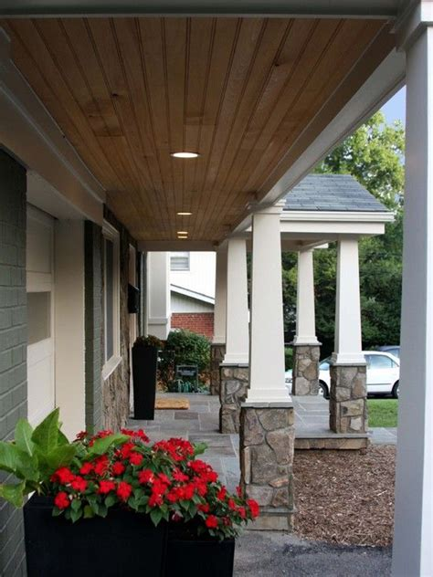 porch vs portico best 25 ranch house landscaping ideas on pinterest