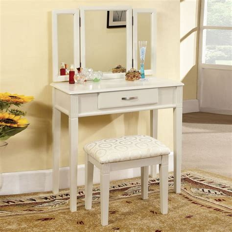 3 pc white finish wood make up bedroom from amb furniture and 44 best images about vanity sets on pinterest vanity