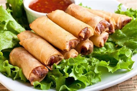 Sring Roll Sumpia Special Sarikaya healthy recipes baked lumpia rolls pevonia philippines