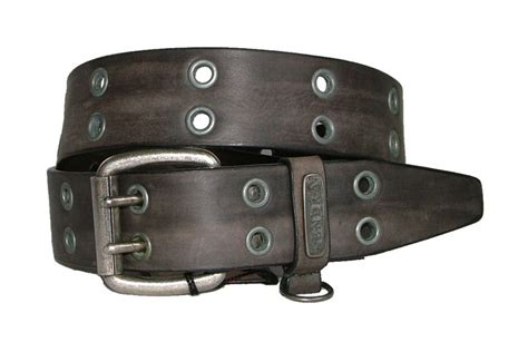 sendra boots leather belt biker belt grey new ebay