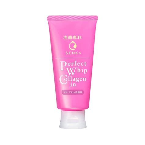 Shiseido Collagen shiseido senka cleansing foam whip collagen