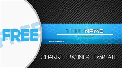 channel picture template photoshop free hd channel banner template
