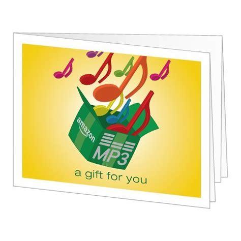 Amazon Mp3 Gift Card - amazon gift card print amazon mp3 musical notes hinlyearveslye