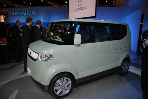 Kei Cars In America by La Auto Show Kei In The Usa With Honda Step Autoblog