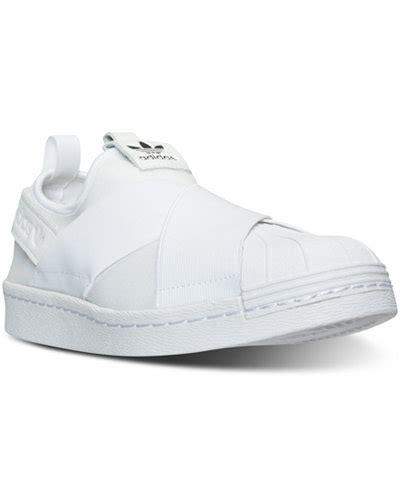 Slip On Slip On Adidas Casual Nike Adidas Sneakers adidas s superstar slip on casual sneakers from