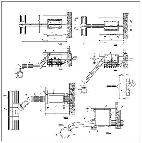 Plumbing Details Plumbing Details Cad Drawings Cad Blocks