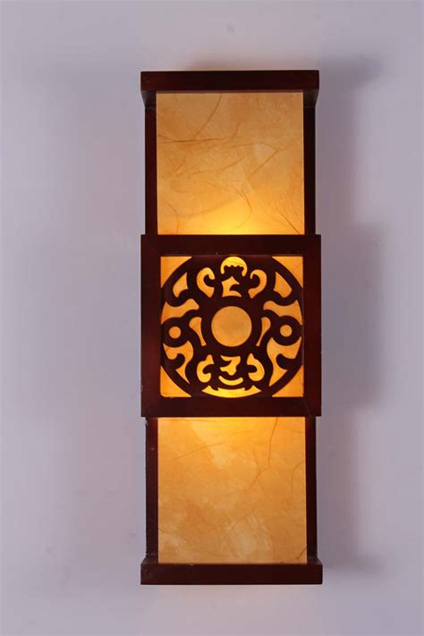 Antique Sconce Lights Sheepskin Wall Lamp Classical Wall Lights Chinese Style