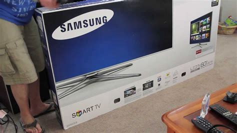 Unboxed Tv And Direct To Your Screen by Samsung Un60f7100af 60 Inch 3d Tv Unboxing Samsung 7100