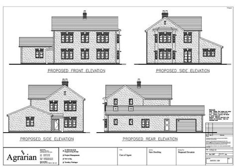architectural floor plans and elevations new detached house plan elevations london birmingham