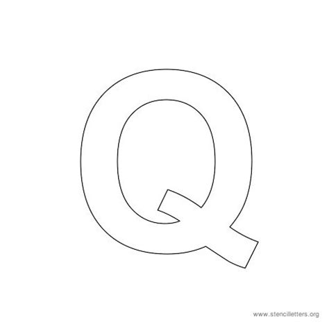 best photos of letter q template printable alphabet