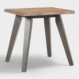 small mahogany chloe accent table world market madera end table world market