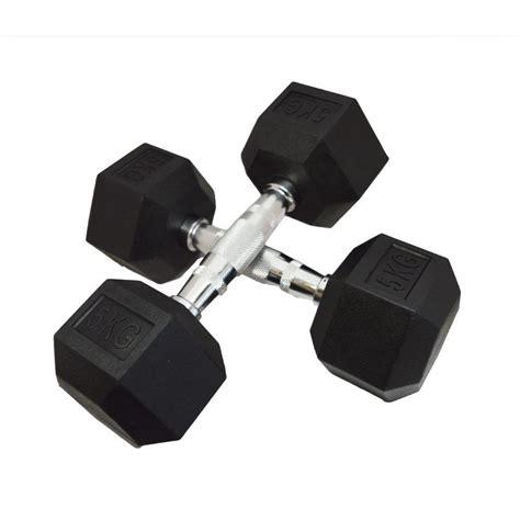 Dumbell Hexagonal Fh Hex Dumbbell Hexagonal Dumbbells Fitness Weights Rubber