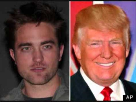 donald trump kw donald trump says robert pattinson should not take back