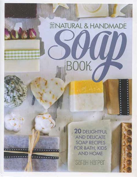 Handmade Soap Book - grit the handmade soap book