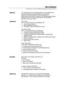 find restaurant busser job resume sles busser resume sles visualcv resume sles database