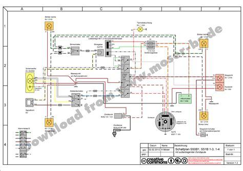 Motorrad Elektrik Schaltpl Ne by Gro 223 Einfache Scheinwerfer Schaltpl 228 Ne Zeitgen 246 Ssisch