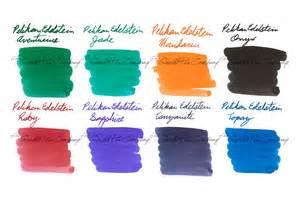 ink sample package pelikan edelstein full line