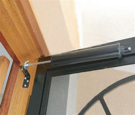 How To Fix Automatic Door Closer by Screen Door Retractor Sliding Door Retractor Garage