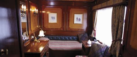 Cabin Express by Belmond Royal Scotsman Luxury Cabins Scotland Trains