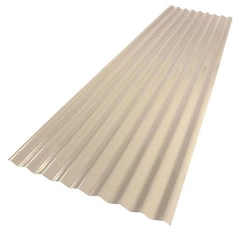 palruf 26 in x 8 ft pvc roofing panel 151981 the