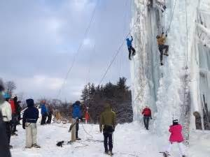 attraction profile  peabody ice climbing club flint