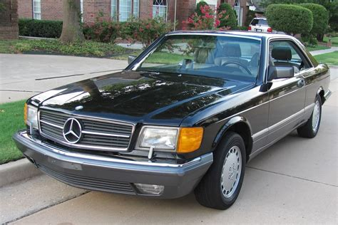 1991 mercedes benz 560sec with 52 000 miles german cars for sale blog