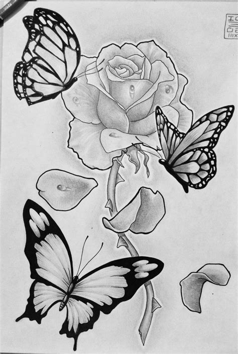 D Sketches by Roses 3d Sketch Black And White Drawing Artistic