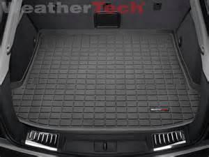 Cargo Liner For 2015 Cadillac Srx Weathertech 174 Cargo Liner Cadillac Srx 2010 2015 Black Ebay