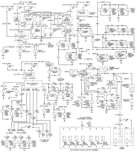 2004 ford taurus wiring diagram free wiring