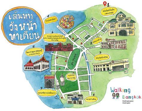 walking maps bangkok walking maps thailand trip reports
