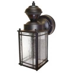motion activated security light heath zenith motion activated 1 light wall lantern