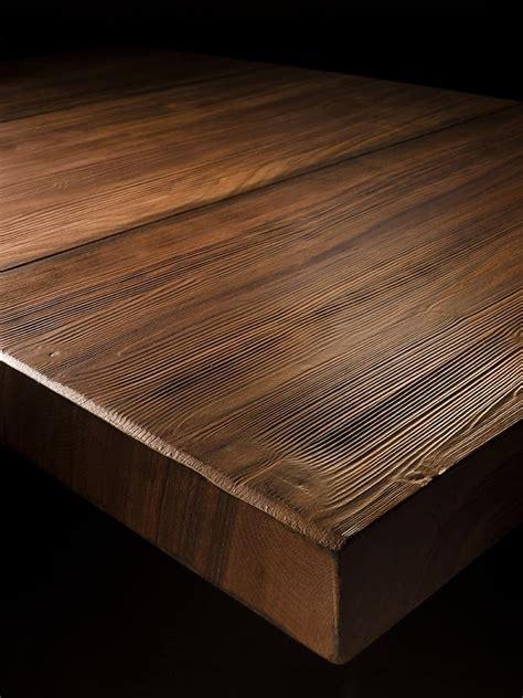 tavoli legno rustici tavolo rustico lineare in legno massiccio idfdesign