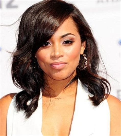 lauren london bun hairstyle pinterest the world s catalog of ideas