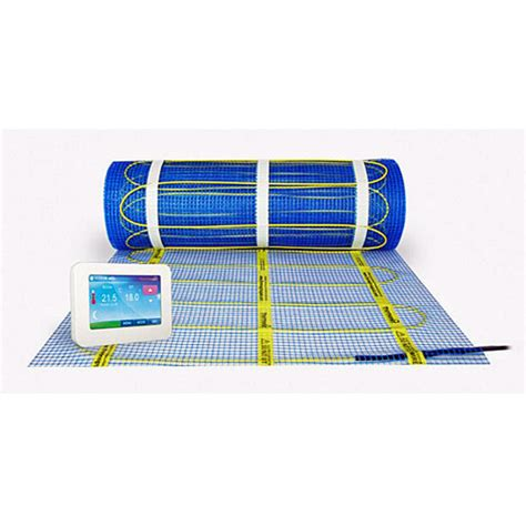 Electric Floor Heating Mat by Thermonet Basic 100w M2 Electric Underfloor Heating Mat