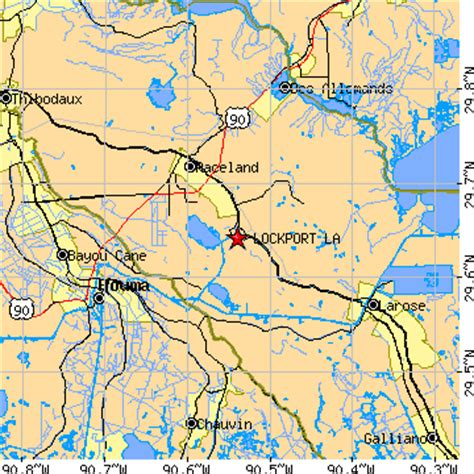 zip code map houma la lockport louisiana la population data races housing
