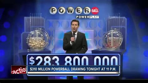 Power Bell Up powerball jackpot up to 310 million on wednesday