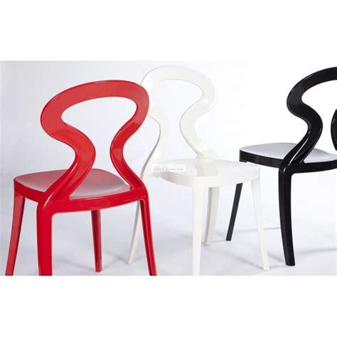 chaises de cuisine modernes chaise de cuisine noir ou blanc par gaber