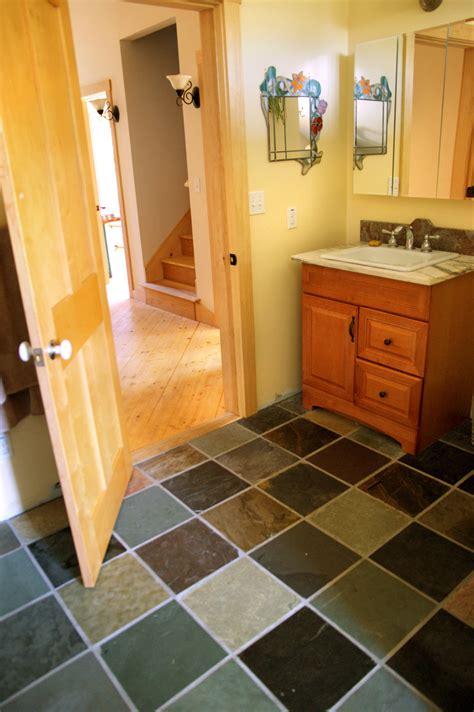 slate for bathroom floor second floor bathroom nov dec 2011 design construction of spartan hannah s home