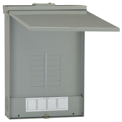 outdoor electrical panel midwest electric products 50 amp 240 volt 240 watt non