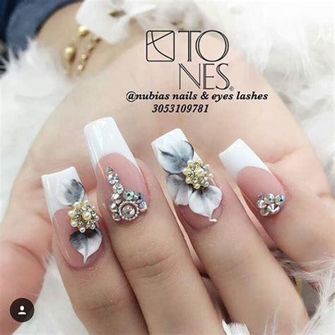 imagenes de uñas de acrilico en 3d las 25 mejores ideas sobre u 241 as 3d en pinterest dise 241 os