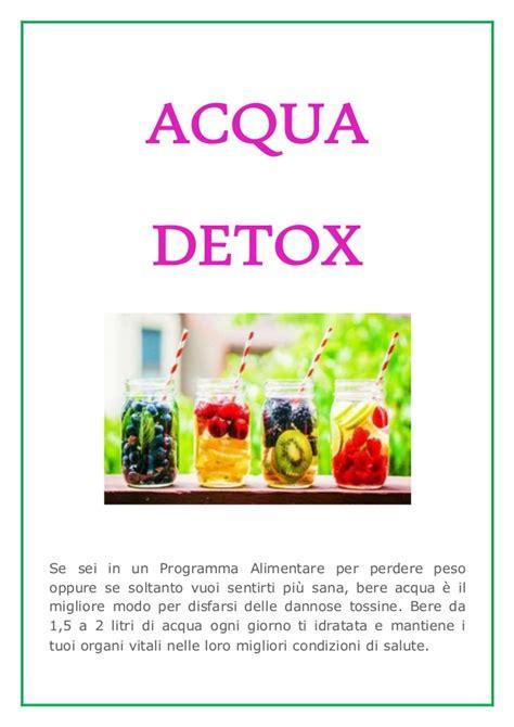 programma alimentare per perdere peso depurarsi per dimagrire pi 249 in fretta acqua detox