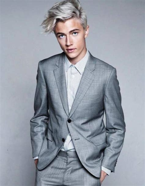 trend gray platinum hair men latest hair trend grey hair pearl white for men women