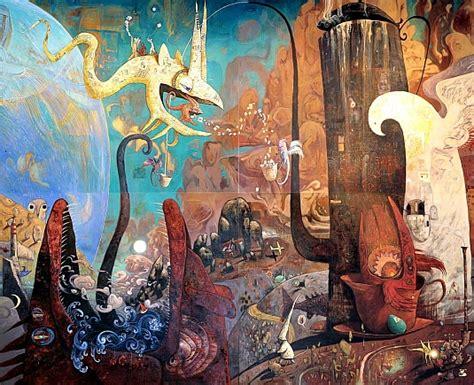 Landscape Wall Mural shaun tan mural forbidden planet blog