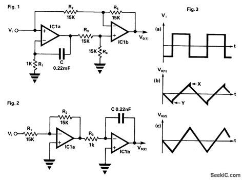 integrator circuit basics improved non inverting integrator basic circuit circuit diagram seekic