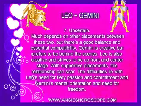 leo and gemini horoscope gallery